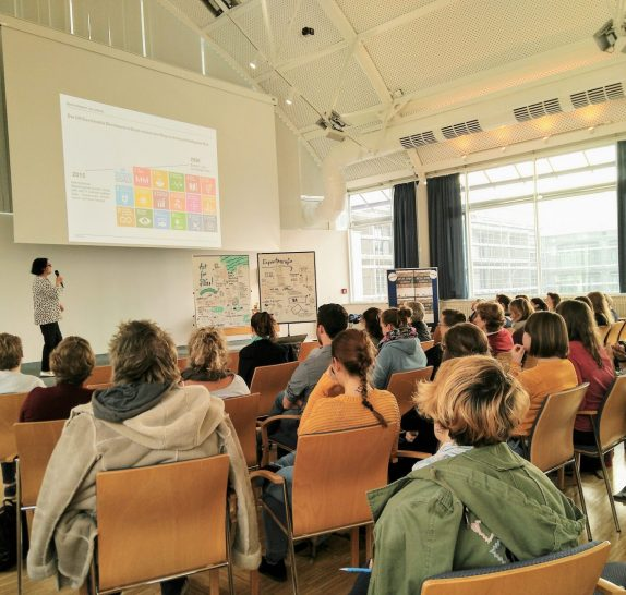 Kommunikationsworkshop beim SDG-Changemaker Training